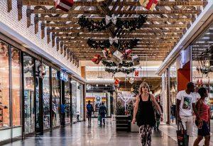 Galería de un centro comercial