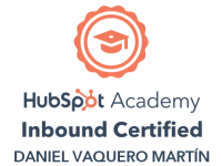 Certificación nominativa Hubspot academy